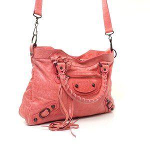 Auth Balenciaga The Town Shoulder Bag #N0898O79